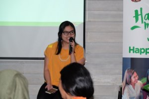 Mbak Maria Hermina (Head Marketing HappyFRESH)