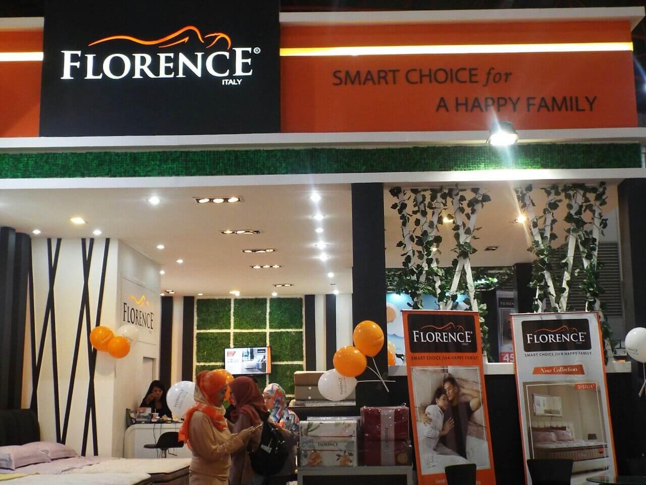 Berkunjung ke Galeri Florence di Pekan Raya Jakarta