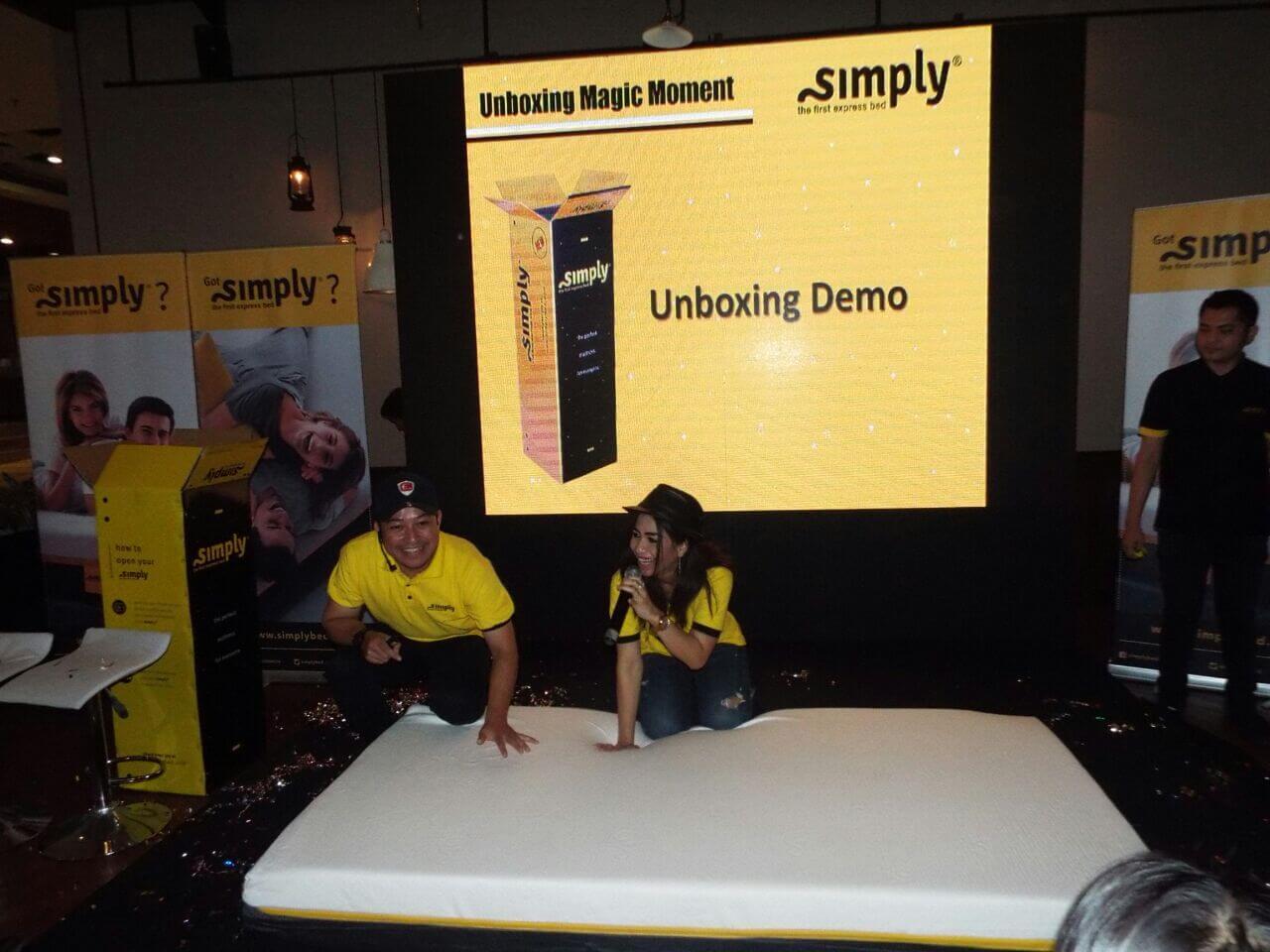 unboxing mattress 120*200 yang kurang dari 60 detik sudah mengembang