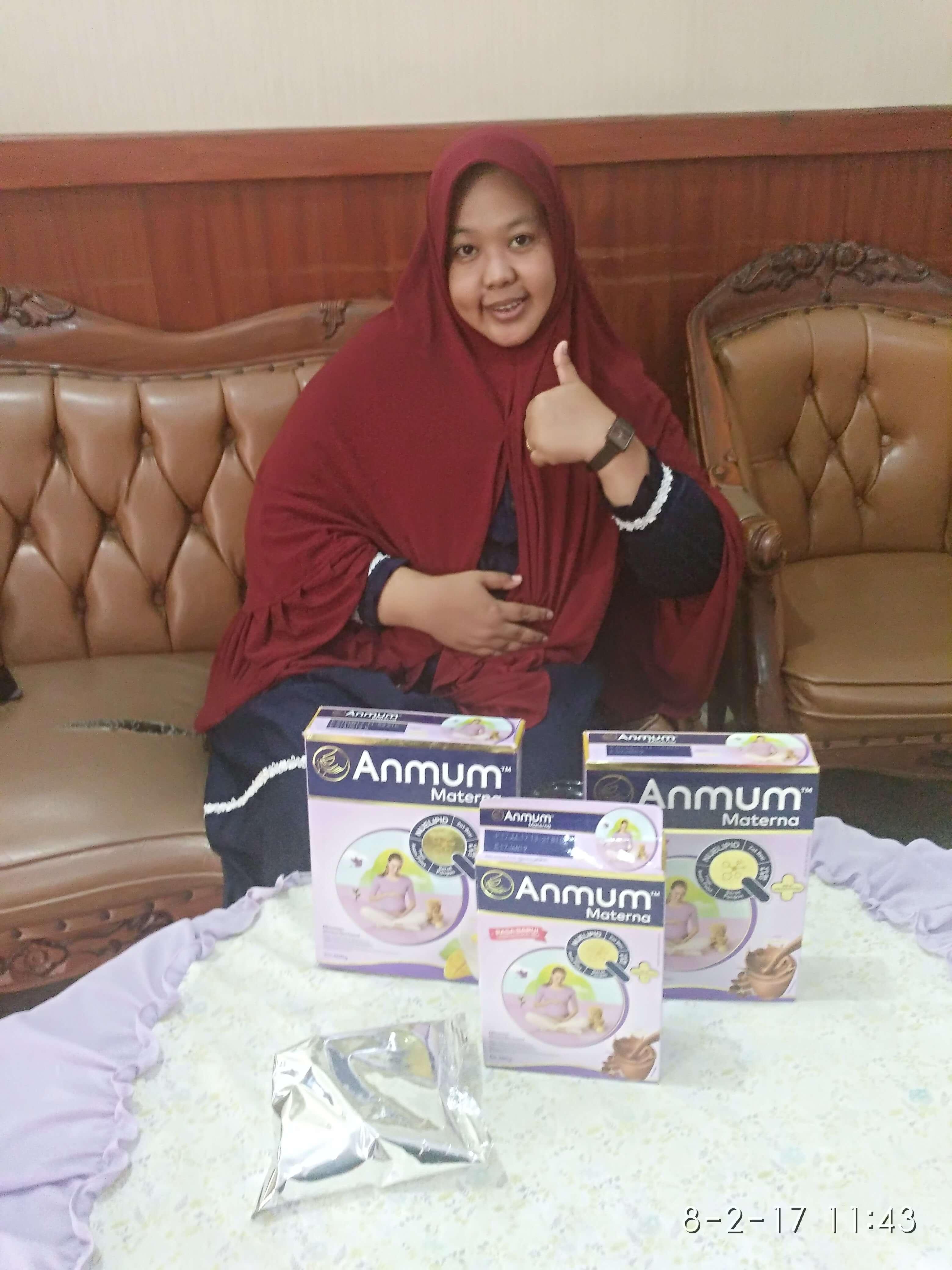 Stock susu Anmum Materna aman untuk 2 minggu