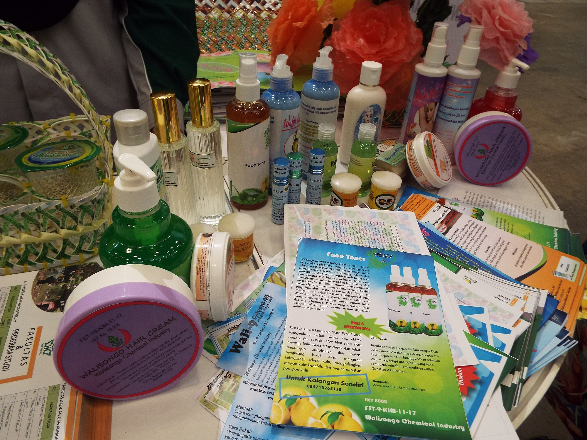 Produk Fak Teknik Kimia IAIN Walisongo