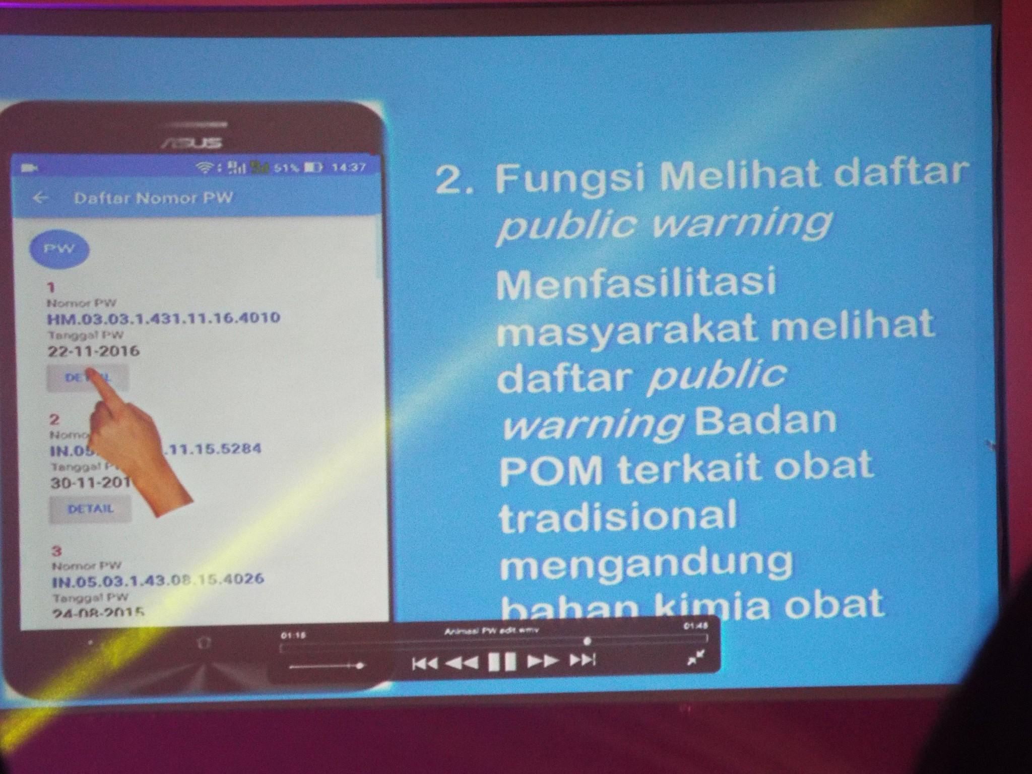 Aplikasi Public Warning