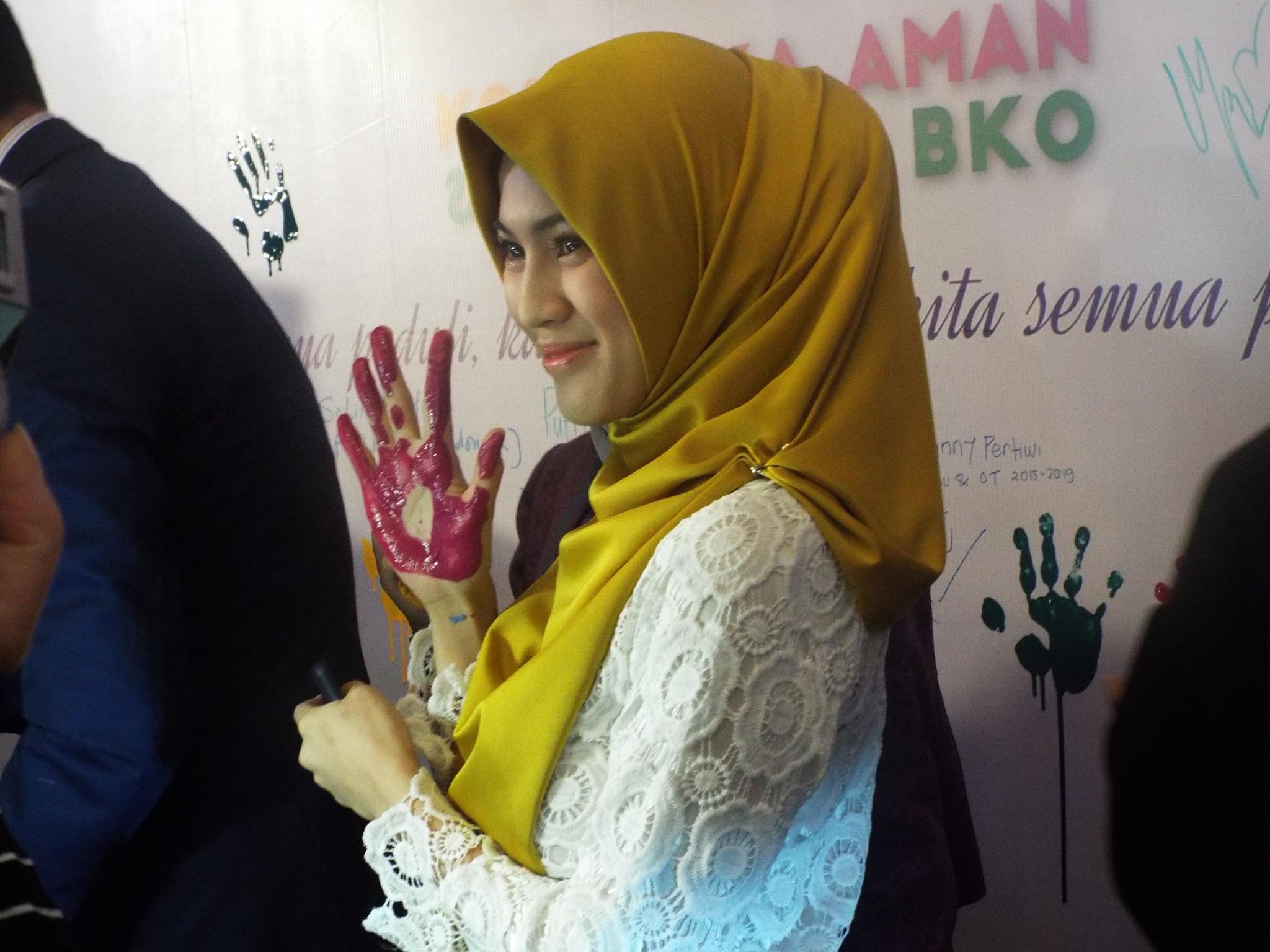 Icha Soebandono juga ikut mendukung aksi peduli