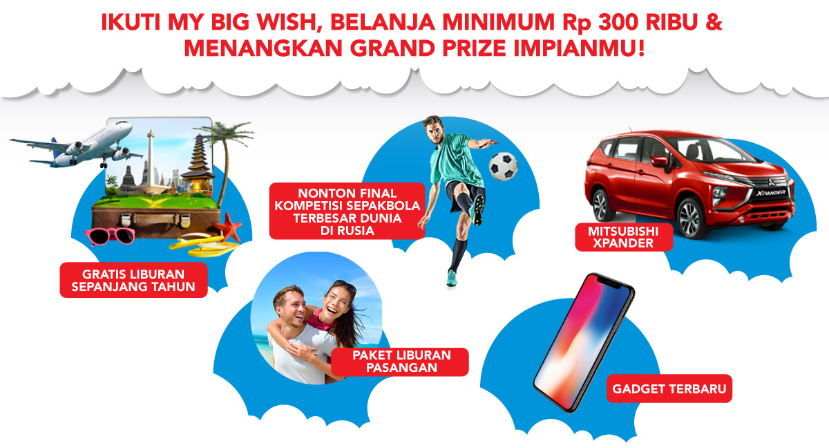 Promo my big wish bliblidotcom