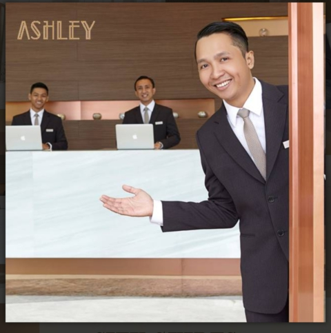 Sumber : website Ashley hotel