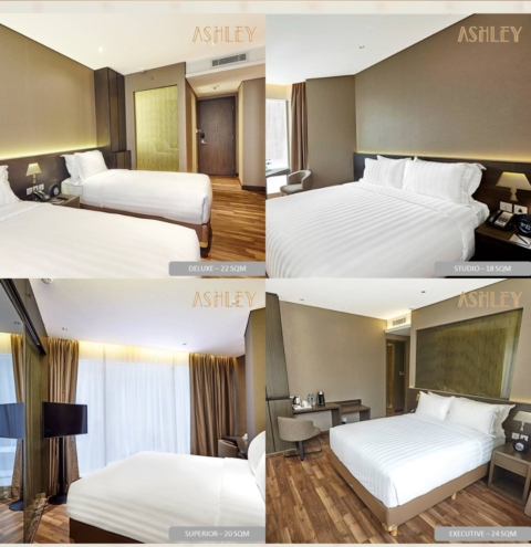 Contoh Kamar di Ashley Hotel. Sumber : web Ashley hotel