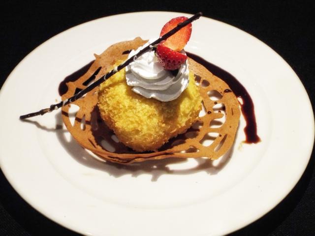 Ice Cream Goreng ala Chef Mulyadi Makmur