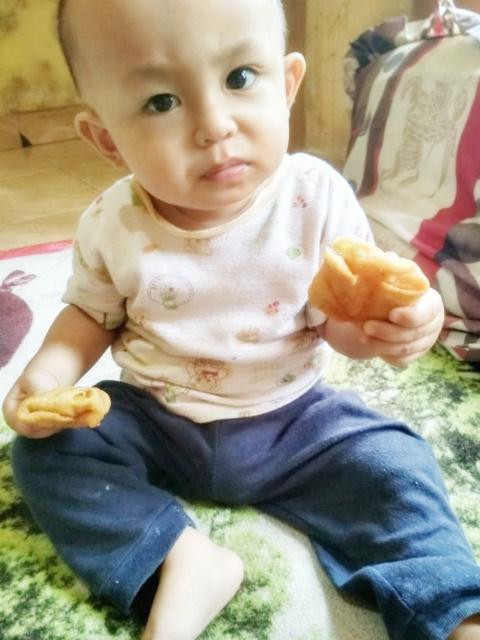 Umar dengan makanannya