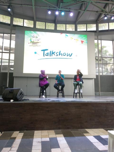 Pembicara pada Talkshow Hari ini