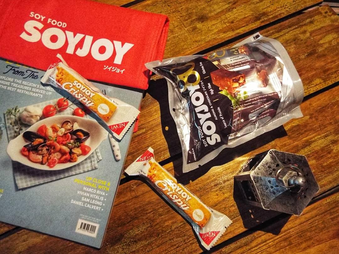 Soyjoy dengan manfaat kedelai sebagai superfood