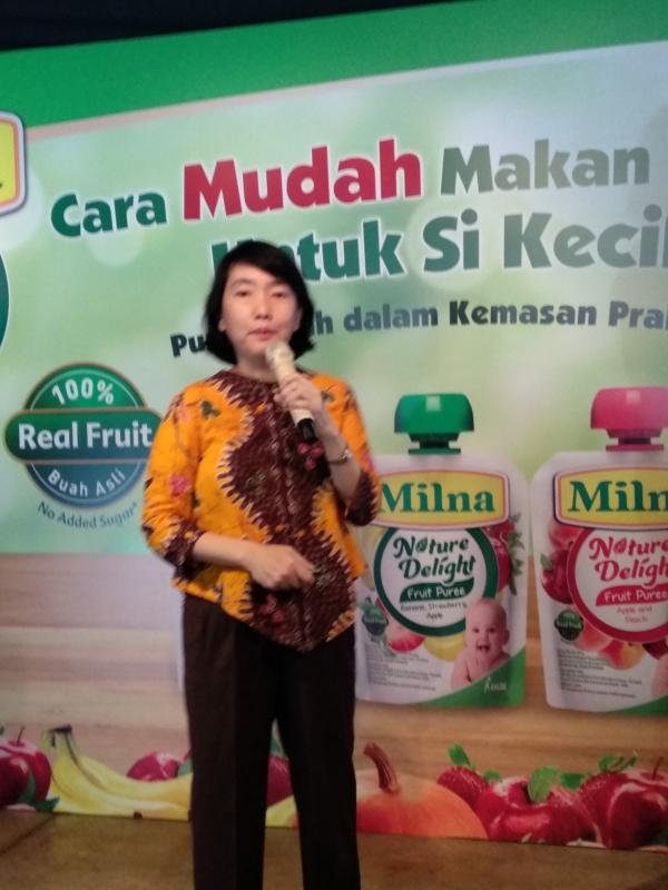 Dr Conny Memberikan informasi bermanfaat seputar buah dan sayur untuk anak
