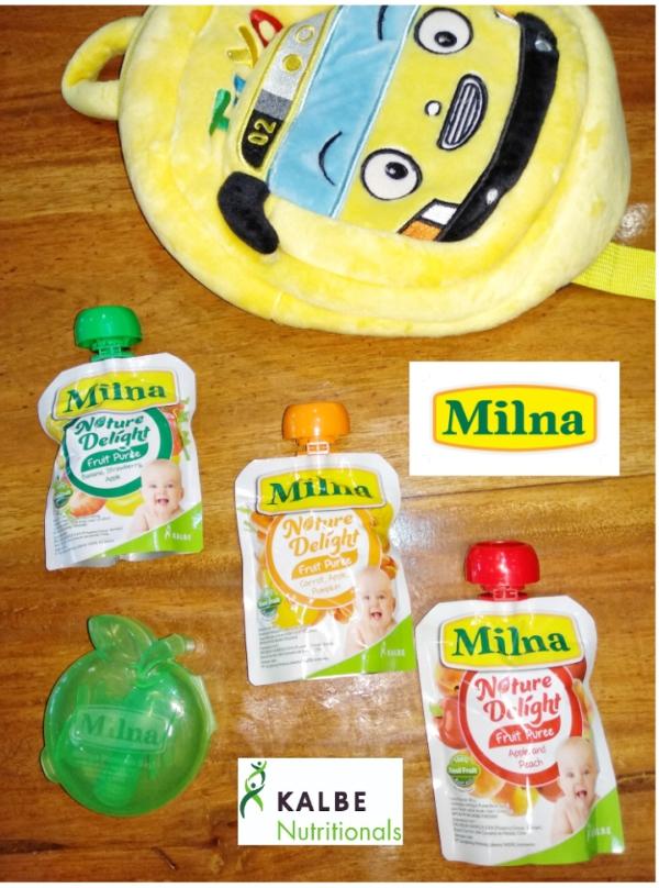 Milna Natural Delight, alami dan praktis untuk si kecil