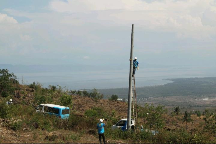 Pembangunan instalasi listrik