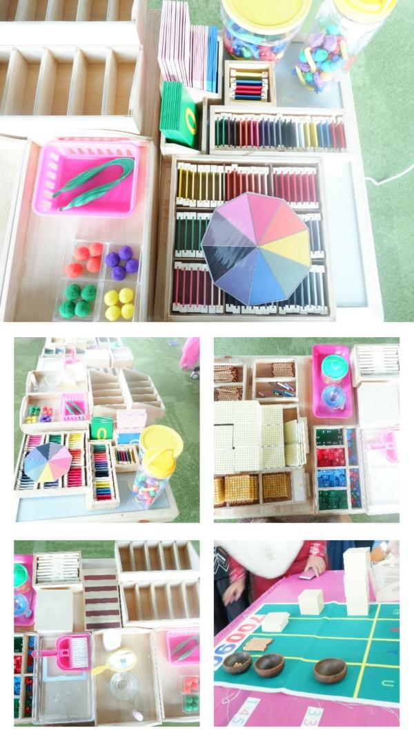 Beberapa tools dalam pembelajaran Montessori di MHA Indonesia