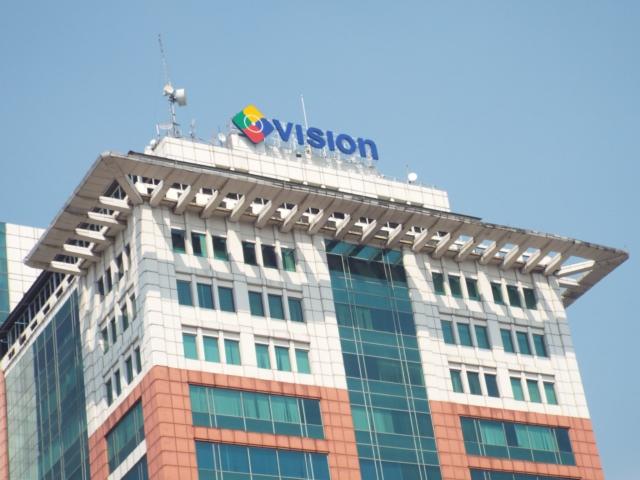 Logo MNC TV merupakan gabungan dari TOP TV, Oke TV dan Indovision