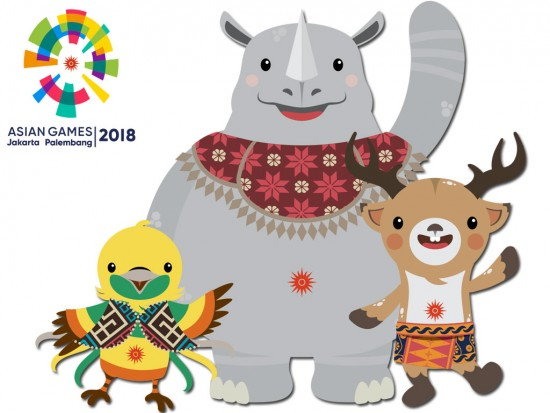Maskot Asian Games 2018. Bhin Bhin, Kaka, Atung