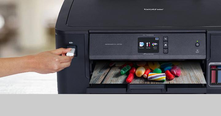 mencetak langsung dari usb