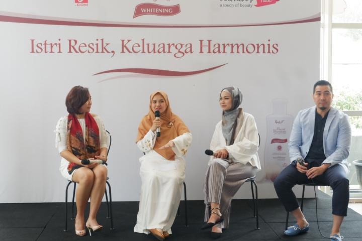 Narasumber (Mbak Yuna, Herfiza, Mb Fifi, Dr Ardiansyah)