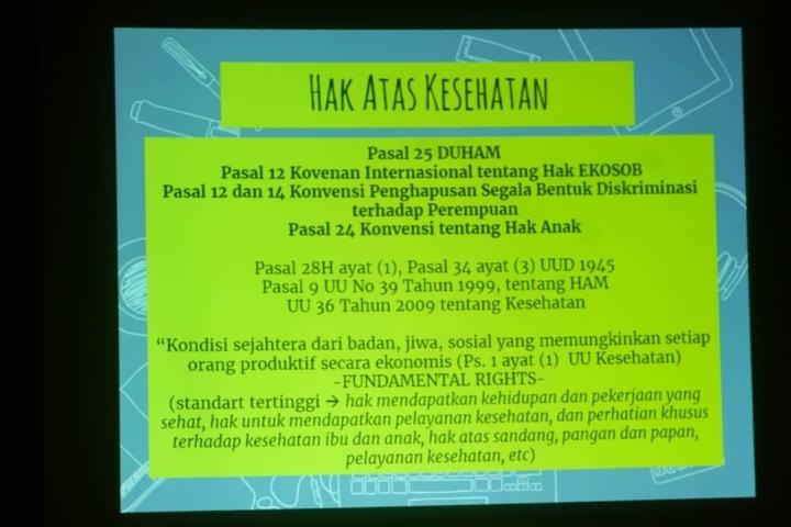 Ini Hak rakyat Indonesia terkait kesehatan