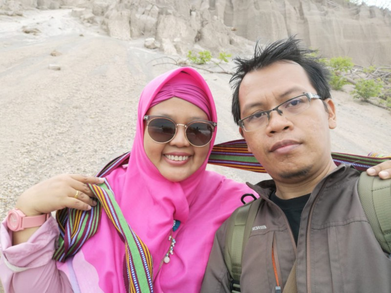 Travelling bareng suami