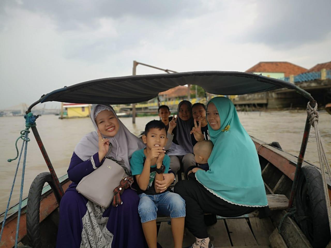 Liburan bersama keluarga
