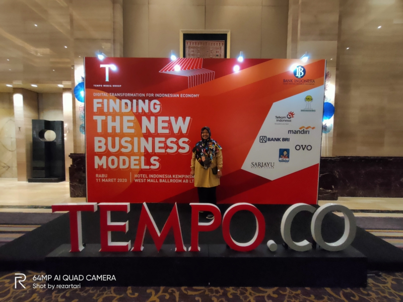 Di acara finding the new business model