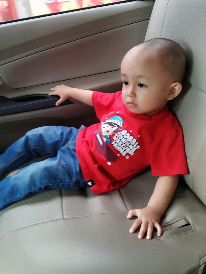 Adek Umar umur 2 tahun